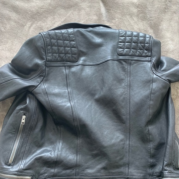 All Saints Other - All Saints Leather Conroy Jacket Size Small